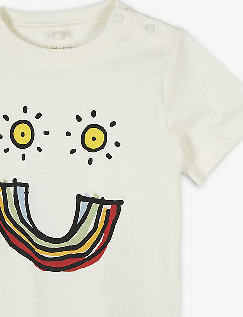STELLA MCCARTNEY Smiley face cotton T-shirt 6-36 months