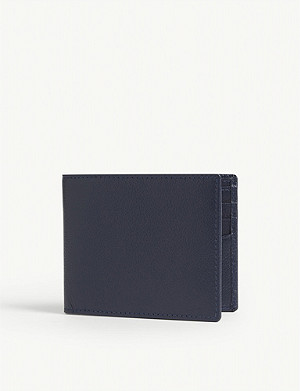 ETTINGER Leather billfold wallet