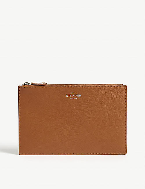 ETTINGER Capra leather travel pouch