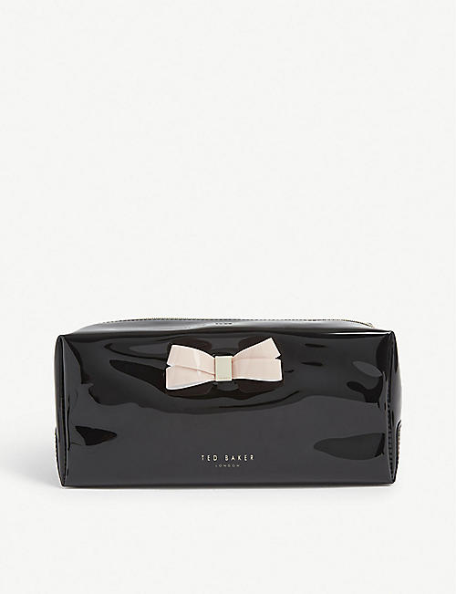 TED BAKER: Fibee bow detail make-up bag