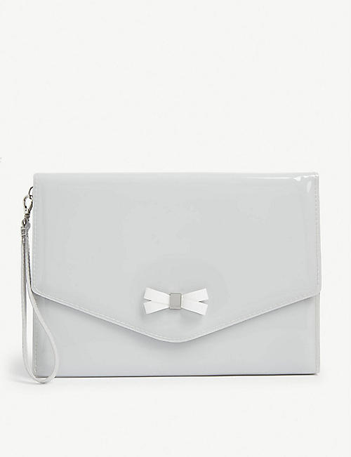 TED BAKER: Canei bow detail pouch