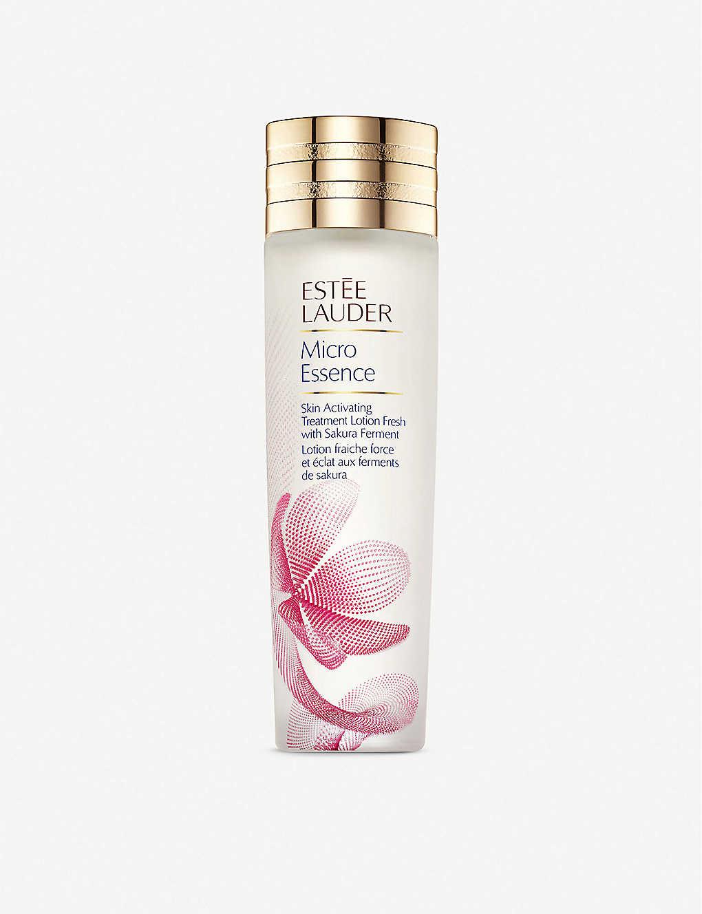ESTEE LAUDER: Micro Essence Skin Activating Treatment Lotion with Sakura Ferment 200ml