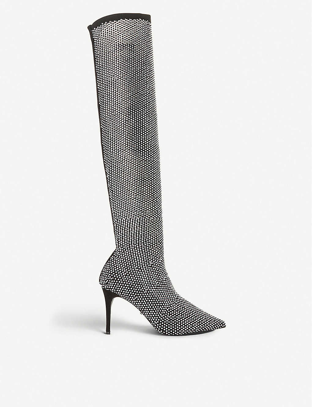 DUNE: Sacramento embellished over-the-knee boots