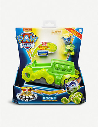 PAW PATROL: Mighty Paws Charged Up vehicle and figure assortment