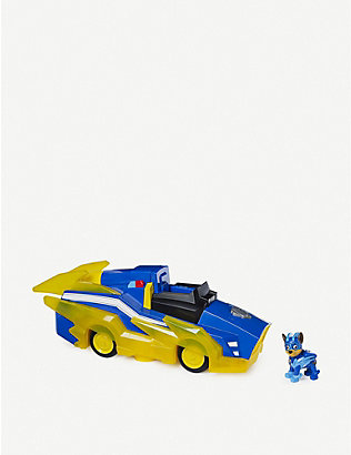 PAW PATROL: Chase's Charged Up remote-control vehicle