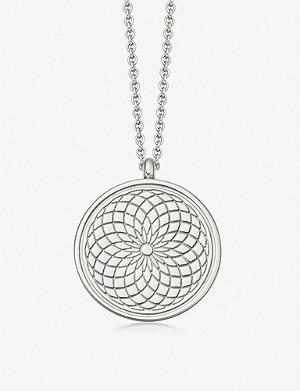 ASTLEY CLARKE Celestial Radial sterling silver necklace