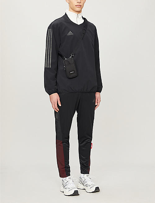 ADIDAS STATEMENT Trefoil stretch-jersey jogging bottoms