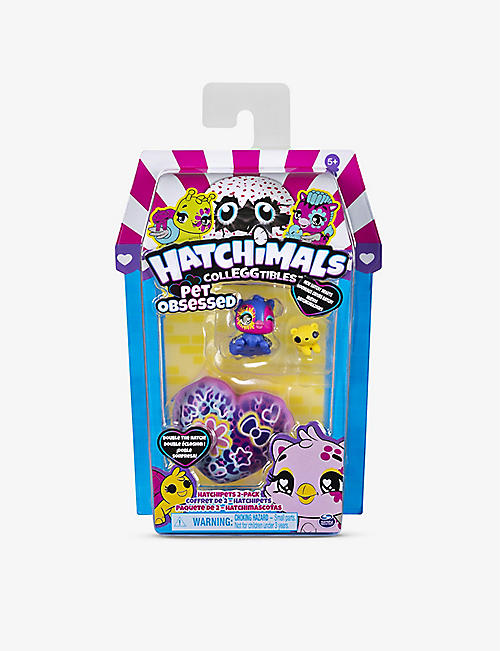 HATCHIMALS: CollEGGtibles Pet Obsessed HatchiPets 2-Pack assorted sets