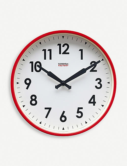 CLOUDNOLA: Factory wall clock 30cm
