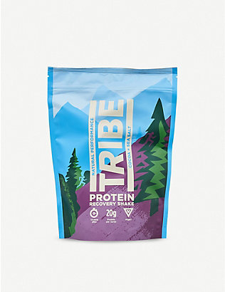 TRIBE: Cocoa and sea salt protein recovery shake powder 500g