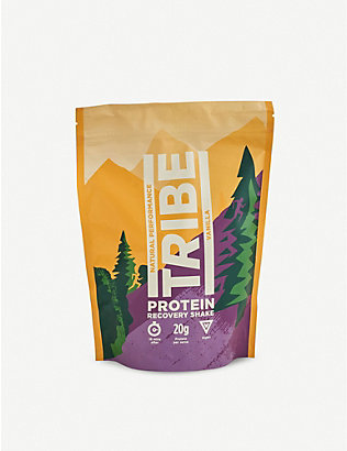 TRIBE: Vanilla and cinnamon protein recovery shake powder 500g
