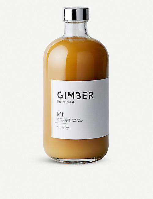 GIMBER: Ginger drink 500ml