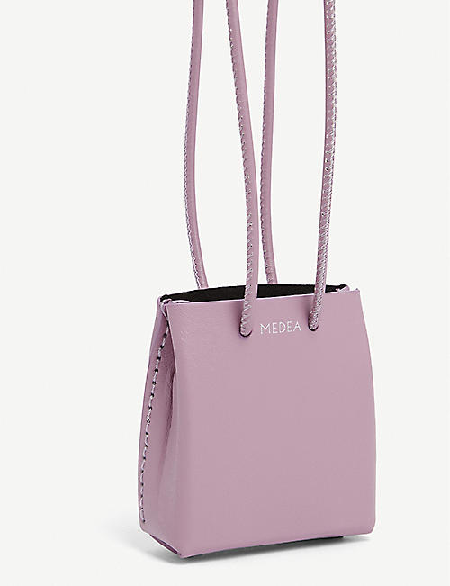 MEDEA Mini cross-body tote bag