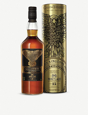 WHISKY AND BOURBON Mortlach Game of Thrones 15-year-old single malt Scotch whisky 700ml