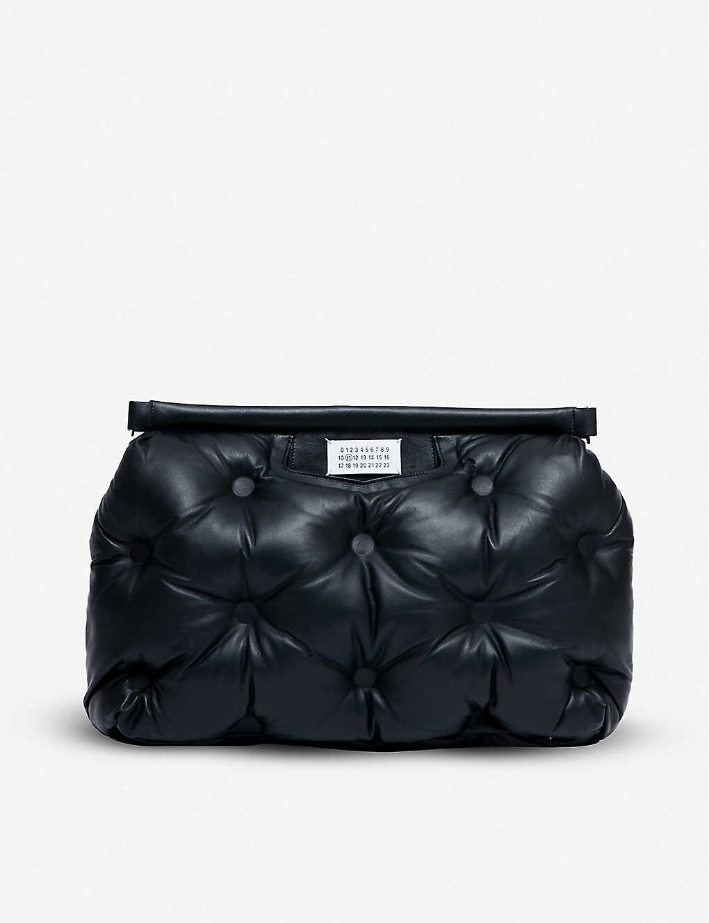 MAISON MARGIELA: Glam Slam medium quilted-leather shoulder bag