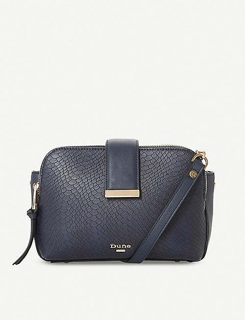DUNE Duilts textured crossbody bag