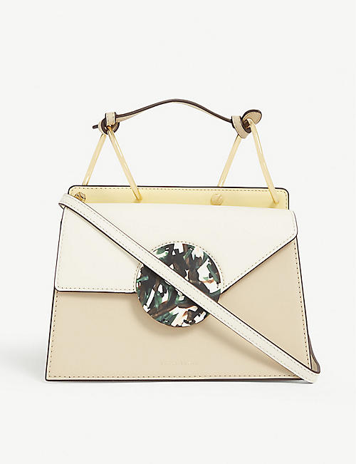 DANSE LENTE: Phoebe leather cross-body bag