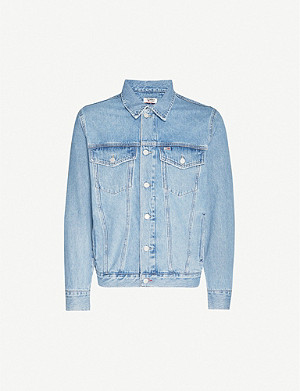 TOMMY JEANS x Lewis Hamilton oversized denim jacket
