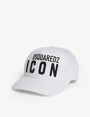 DSQUARED2: Icon cotton cap 8-14 years