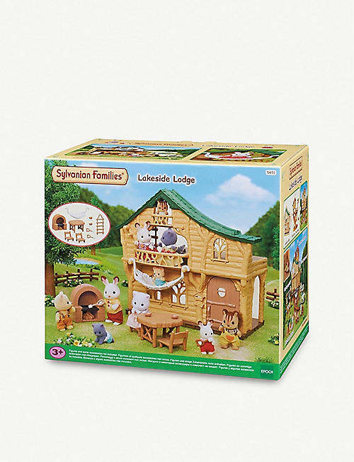 SYLVANIAN FAMILIES: Lakeside Lodge playset