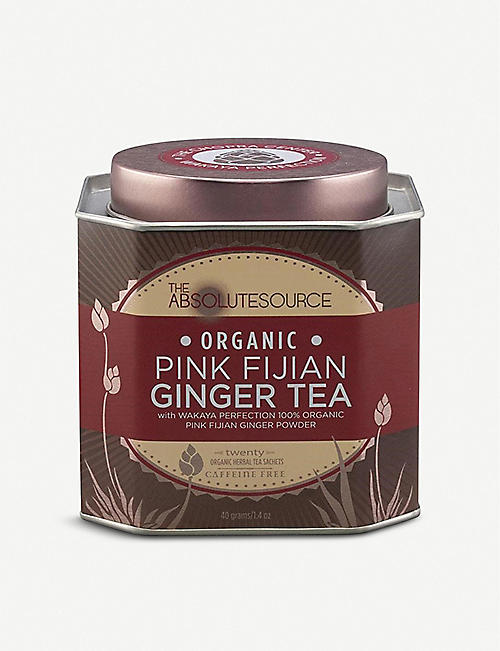 WAKAYA: The Absolute Source Pink Fijian Ginger tea 40g
