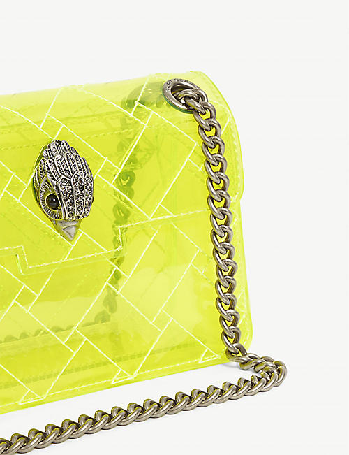 KURT GEIGER LONDON Kensington mini transparent PVC cross-body bag