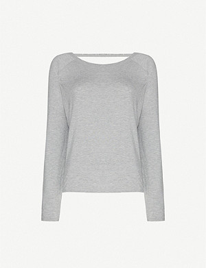 LORNA JANE LJ long-sleeved stretch-jersey top