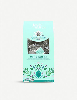 ENGLISH TEA SHOP: Mint green tea 60g