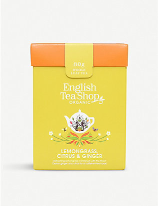 ENGLISH TEA SHOP: Lemongrass citrus and ginger tea 60g