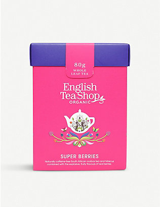 ENGLISH TEA SHOP: Super Berries tea bags box of 15