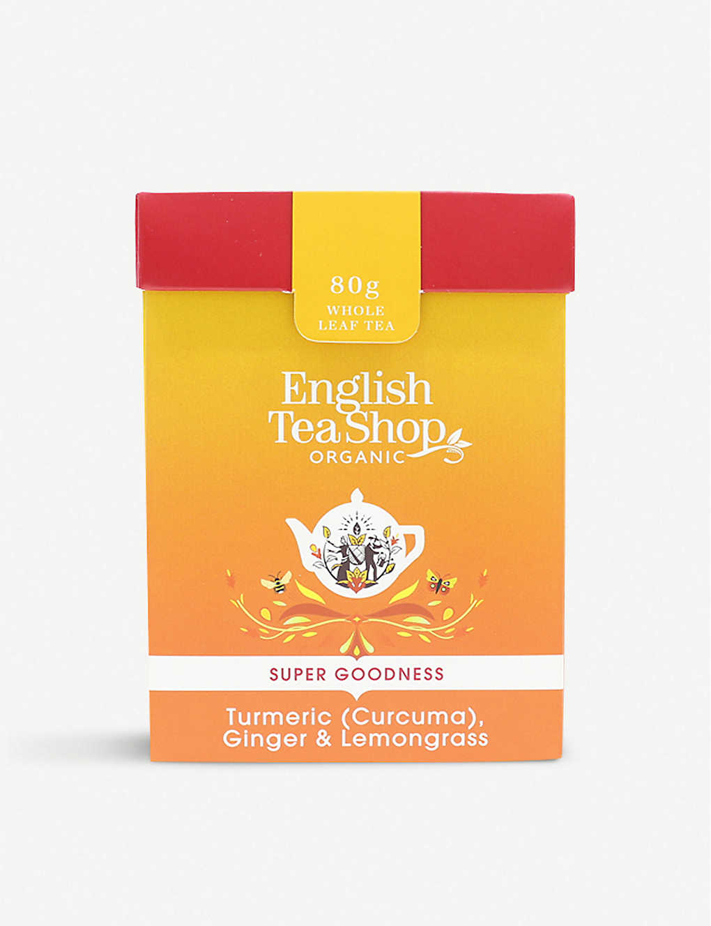 ENGLISH TEA SHOP: Turmeric, ginger and lemongrass tea 60g