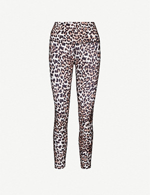 LORNA JANE Panthera leopard-print leggings