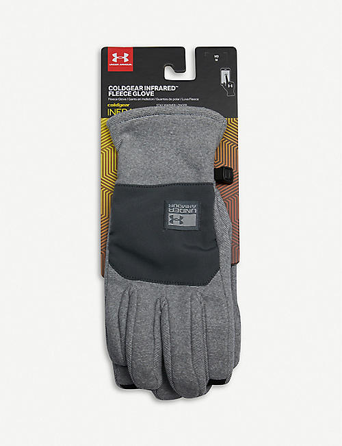 UNDER ARMOUR ColdGear brushed-fleece gloves