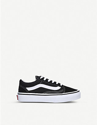 VANS: Old Skool suede-canvas lace-up trainers 4-8 years