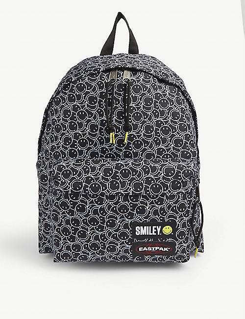 EASTPAK Eastpak x Smiley graphic-print woven backpack