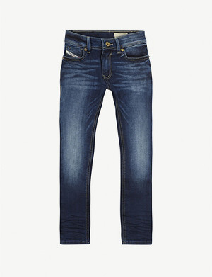 DIESEL Sleenker cotton skinny jeans 4-16 years