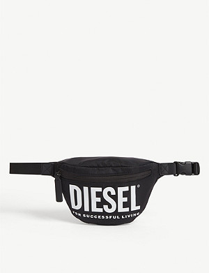 DIESEL Logo print belt bag