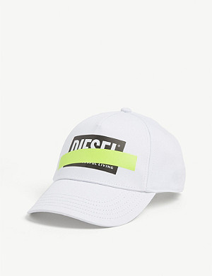 DIESEL Successful Living logo cotton baseball cap