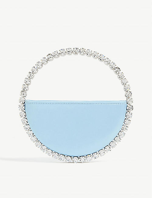 L'ALINGI Eternity satin clutch