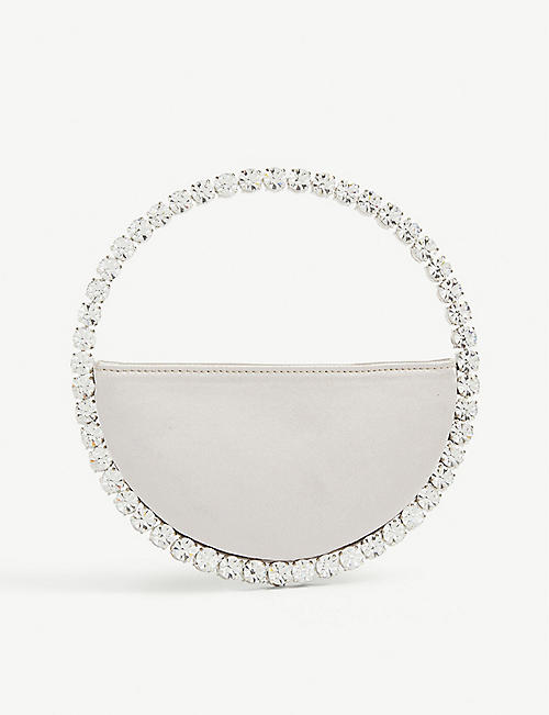L'ALINGI: Eternity satin clutch