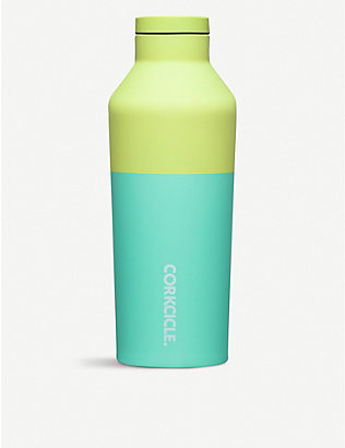 CORKCICLE: Colour Block stainless steel canteen 16oz