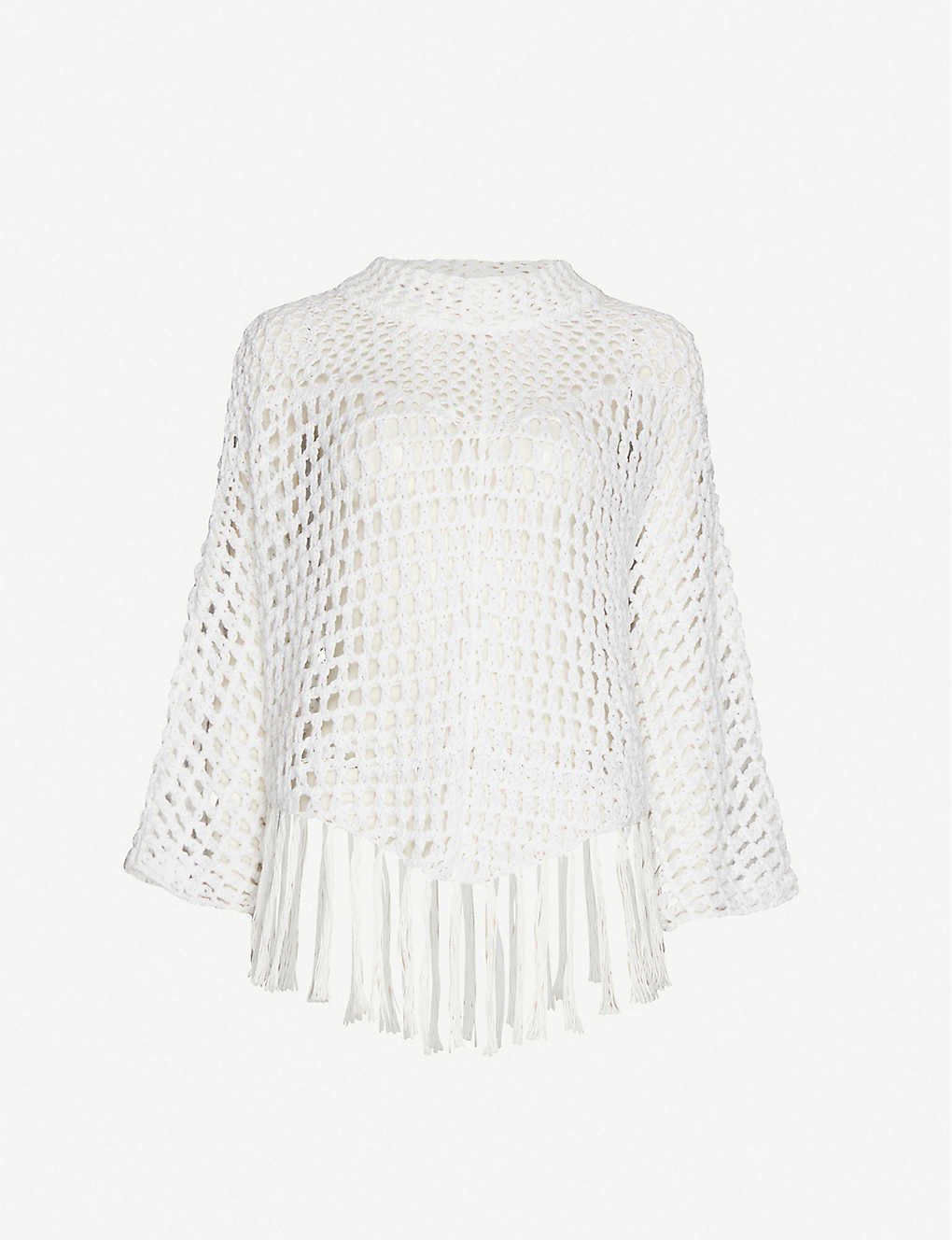 SEE BY CHLOE: Open-knit cotton-blend jumper