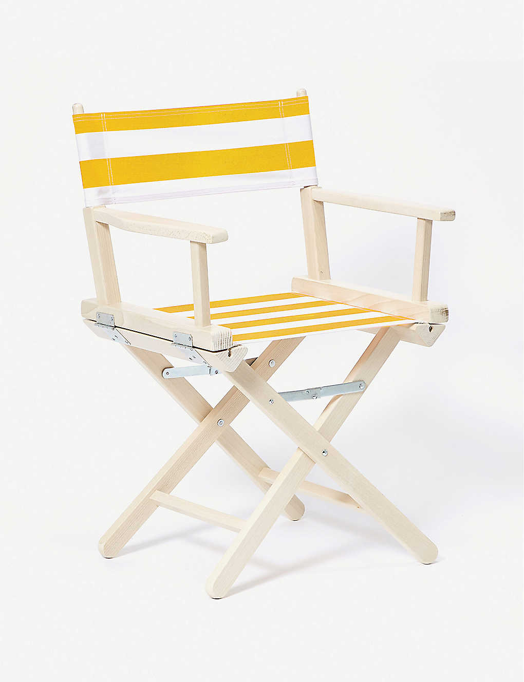 THE CONRAN SHOP: Stained beech and striped cotton director's chair
