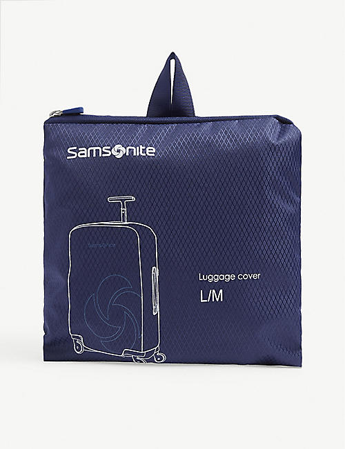 SAMSONITE ACCESSORIES Logo medium/large foldable luggage cover