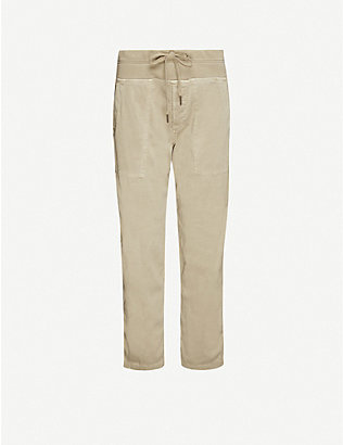 JAMES PERSE: Tapered cotton jogging bottoms