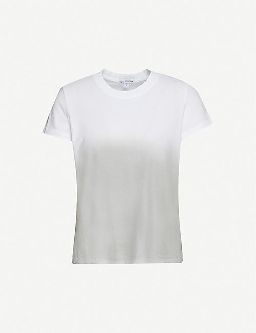 JAMES PERSE Dip-dyed cotton-jersey T-shirt
