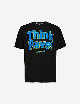 AWGE: Midnight Rave cotton-jersey T-shirt