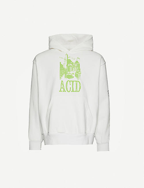 AWGE: Midnight Rave cotton-jersey hoody