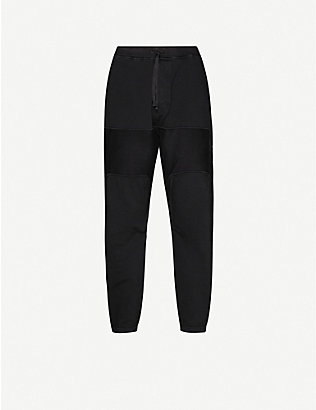 STONE ISLAND SHADOW PROJECT: Logo-patch cotton-jersey jogging bottoms