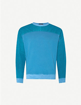STONE ISLAND SHADOW PROJECT: Shell and cotton-blend jersey sweatshirt